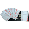 ESSELTE Regiszter -100107- A4 1-20 műanyag ESSELTE <10csom/dob>