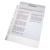 ESSELTE Genotherm lefűzhető -56133- A4 11-lyuk NARANCSOS ESSELTE