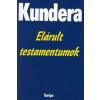 Európa Könyvkiadó Elárult testamentumok