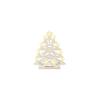 Karácsonyfa formájú gyertyaív, 10 izzó, fehér (KAD 22)