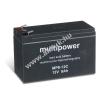 Multipower Ólom akku 12V 8Ah (Multipower) típus MP8-12C ciklusálló