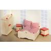 Goki Fa babaház bútor, hálószoba