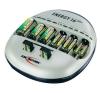 Conrad 16 rekeszes hengeres akkutöltő Ansmann Energy 16 Plus akkumulátor töltő