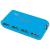 Conrad 4 portos USB 2.0 Hub tápegységgel, kék, LogiLink UA0088