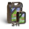 LIQUI MOLY Leichtlauf HC7 5W40 5L + 1L ajándék
