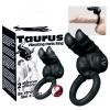 Taurus - duplamotoros péniszgyûrû (fekete)