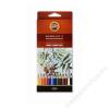 KOH-I-NOOR Akvarell ceruza készlet, KOH-I-NOOR Mondeluz 3716/12 12 különböző szín (TKOH371612)