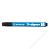 DONAU Táblamarker, 2-4 mm, kúpos, DONAU D-signer B, fekete (D7372FK)