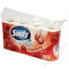 Toalettpapír, 3 rétegű, 8 tekercses, Sindy, eper (KHHVP015)