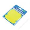 DONAU Öntapadó jegyzettömb, telefon alakú, 50 lap, DONAU, sárga (D7561001)