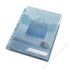 Leitz Genotherm, L, lefűzhető, A4, 200 mikron, füllel, LEITZ CombiFile, kék (E47270035)