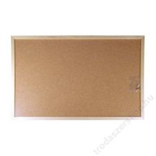 VICTORIA Parafatábla, 90x120 cm, fa keret, VICTORIA (VVI07) parafatábla