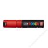 UNI Dekormarker, 8 mm, UNI Posca, piros (TUPC8KP)