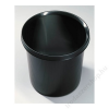 HELIT Szemetes, műanyag, HELIT Ergologic, fekete (INH6105795)