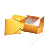 ESSELTE Gumis mappa, 15 mm, prespán, A4, ESSELTE Luxus, sárga (E26591)