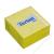 TARTAN Öntapadó jegyzettömb, 76x76 mm, 400 lap, TARTAN, sárga (LPT7676YN)