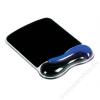 Kensington Egéralátét csuklótámasszal, géltöltésű, KENSINGTON DuoGel, fekete-kék (BME62401)