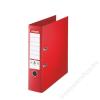 ESSELTE Iratrendező, 80 mm, A4, PP/PP, élvédő sínnel, ESSELTE Jumbo Plus, Vivida piros (E81183)