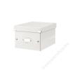 Leitz Irattároló doboz, A5, lakkfényű, LEITZ Click&Store, fehér (E60430001)