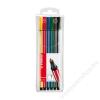 STABILO Rostirón készlet, 1 mm, STABILO Pen 68, 6 különböző szín (TST6806PL)