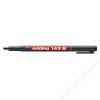EDDING Alkoholos marker, OHP, 1 mm, EDDING 143 B, fekete (TED143FK)