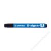 DONAU Alkoholos marker, 2-4 mm, kúpos, DONAU D-signer U, fekete (D7371FK)