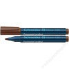 SCHNEIDER Alkoholos marker, 1-3 mm, kúpos, SCHNEIDER Maxx 130, barna (TSC130B)