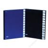 DONAU Előrendező, A4, A-Z, karton, DONAU, sötétkék (D8694SK)