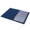 PANTA PLAST Névjegytartó, 200 db-os, gyűrűs, PANTAPLAST, fekete (INP328202F)