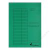 VICTORIA Pólyás dosszié, karton, A4, VICTORIA, zöld (IDPI03)