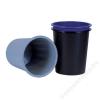 DONAU Papírkosár, 14 liter, DONAU, szürke (D305SZ)