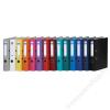 DONAU Iratrendező, 50 mm, A4, PP/karton,  DONAU Szivárvány, világoskék (D3950VK)