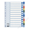 ESSELTE Regiszter, műanyag, A4, 12 részes, ESSELTE (E15262)