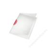 Leitz Gyorsfűző, klippes, PP, A4, LEITZ Color Clip Magic, piros (E41740025)