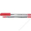 SCHNEIDER Golyóstoll, 0,5 mm, kupakos, SCHNEIDER Tops 505 M, piros (TSCTOP505MP)