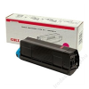 Oki 42804506 Lézertoner C5200, 5400 nyomtatókhoz, OKI vörös, 3k (TOOKI5200M)