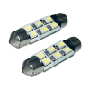 Conrad SMD LED-es szoffita izzó  6LED-es fehér 10 mm x 41 mm Eufab