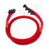 Nanoxia 4x SATA-III-Kábel kötegelve 45 cm