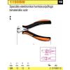 Beta 1190BM speciális elektronikai homlokcsípőfogó, bimateriális szár