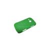 utángyártott Műanyag telefonvédő lyukacsos ZÖLD [Samsung GT-S6500 Galaxy Mini 2]