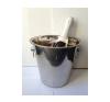 . Pezsgős vödör, rozsdamentes, 22cm konyhai eszköz