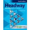 Oxford University Press New Headway Intermediate (4th Edition) Workbook with Answer Key & iChecker CD-ROM