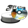 MediaRange DVD+R 8X Silver Printable Cake (25) /MR416/