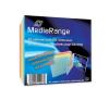 MediaRange színes CD tok slim 5,2mm (20) /BOX37/ asztali számítógép kellék