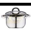Blaumann BL1022 rozsdamentes fazék üvegfedõvel 7,6 literes