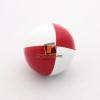Play zsonglőrlabda, 60mm,fehér-piros