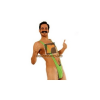 thumbs up Borat Mankini