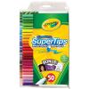 Crayola Kimosható filcek 50-db készlet