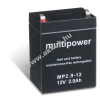 Multipower Ólom akku (Multipower) típus MP2,9-12
