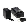 Powery Utángyártott akku videokamera JVC GZ-E15 (lapos csatlakozóval) +töltővel